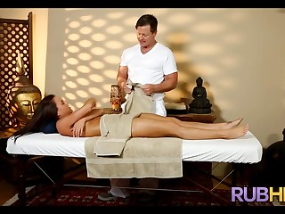Massage Therapist is Horny