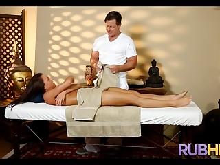 Massage Therapist is Horny