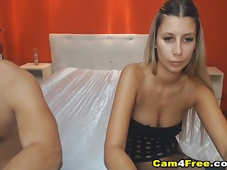 Sexy Wild Couple Having A Hard Fucking on Cam