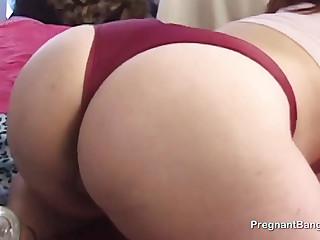 Preggo babe wants sex so bad
