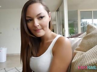 Cute Brunette Fucked in Pov Porn