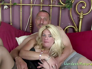 iAmPorn - Slutty Blonde Mature Gets Fucked Good