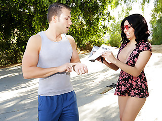 Aaliyah Gets Her Gangbang