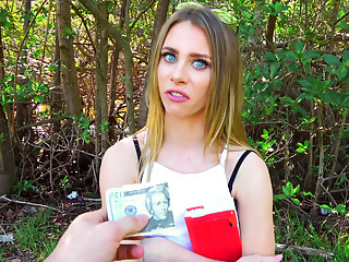 Public Pickups � Blonde Rides Dick In Public Park