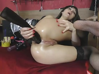 Insane Wet Ass Fisting - Watch in 4K HD at 4KCAMZ,COM
