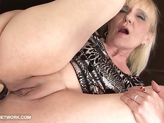 Granny Porn Old Woman Takes Facial Cumshot Gets Fucked