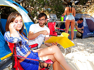 Brazzers � In Tents Fucking: Part 1