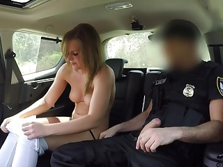 She Loves Fucking A Cop Cowgirl