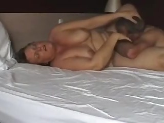 mature couple playing in bed_240p