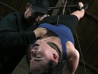 Casey Hung Upside Down and Skull-Fucked
