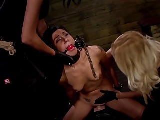 Isa Mendez Earns Another Lesbian Domination 3some with Mila Blaze & Ava Kelly
