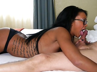 Harley Dean edging blowjob -2nd Angle!