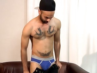 Aiden Cums Hard In His Solo - Aiden Rivers