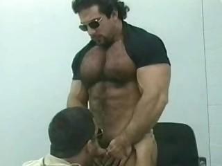Hot Gay Bear Blowjob