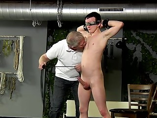 Roped Up And Wanked Off - Brett Wright And Sebastian Kane