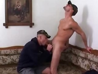 Gay Bottom Takes a Cock Up His Butt