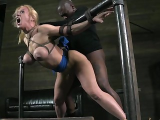 Beautiful Blonde Darling Has Devastating Orgasms