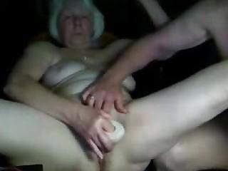 Watch grandma having fun on webcam_240p