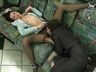 Emmie and Jaclyn awesome pantyhose movie