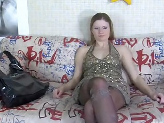 Vivian in pantyhose video