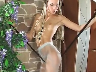 Stephana in pantyhose movie