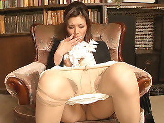 Office slut Mai Kuroki gets rammed and facialized