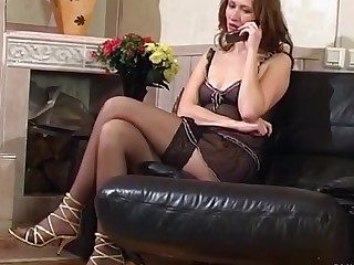 Irene and Peggy mindblowing anal lesbian movie