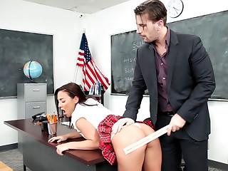 Bad girls get punished!