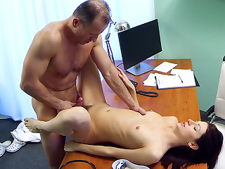 Cock therapy helps sensitive pussy