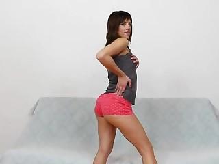 Leony Aprill deviated nylon fetish