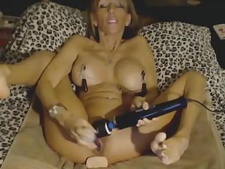 Hot milf extreme masturbation