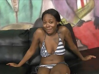 Olivia Rain in Ghetto Gaggers porn video