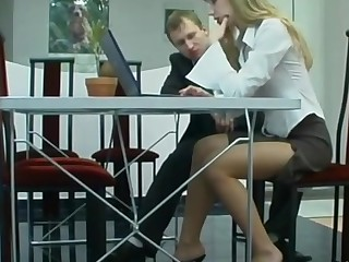 Diana and Adrian sexy anal pantyhose action