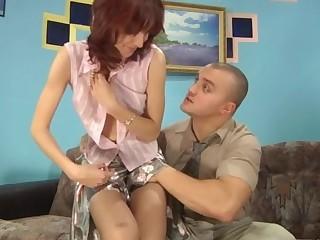 Gladys and Nicholas amazing anal pantyhose movie