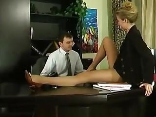 Alina and Ralph nasty anal pantyhose video