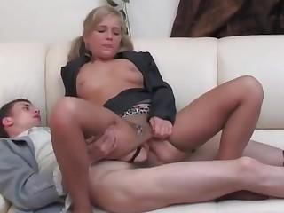 Benett and Lewis mindblowing anal pantyhose movie