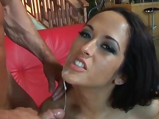 Sexy Carmella Bing takes on two in this anal and DP scene