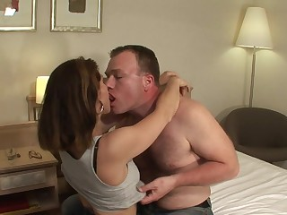This hot MILF loves a hard cock to please her