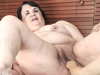 big mama gets fisted by a hot tub