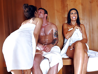 Sneaky Sauna Mama