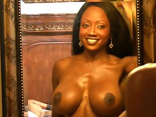 Diamond Jackson huge tits fuck