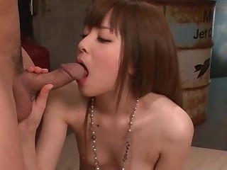 Marin Omi amazes with her tight and puffy cunt