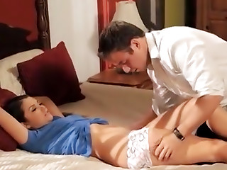 Tied to Bed Allie Haze Fucked