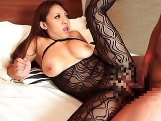 Japanese Busty Av Model Enjoys Tit Fuck To The Max
