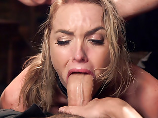 Hot Blonde Pussy Pounded Day One