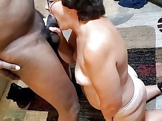Granny Pawg Loves Black Cock Cum In Her Mouth. Gilf Nympho