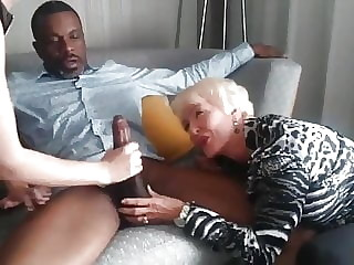 Mother and Daughter Meet Up To Fuck Hung Black Man In Hotel.