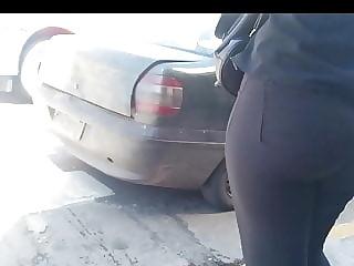 black tight jean short clip