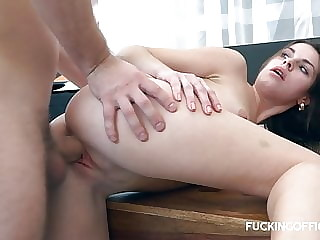 Cock Hungry Wife Gets Cum In Her Ass