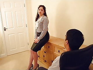 A husband doggy fucks his hot and sexy Indian wife